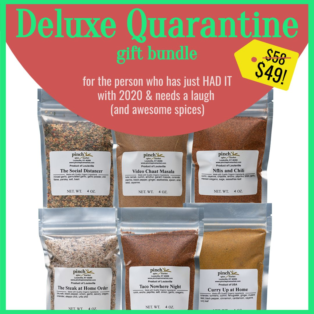 6 pack organic spices for pandemic cooking