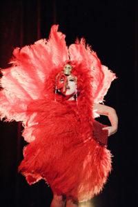 Roxie Moxie of Seattle performs.  Photo: Ben Britt