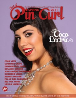 Coco Lectric. Photo: DallasPinUp.com MUA/H: Ladonna Stein Cover Design: Jenni Leder
