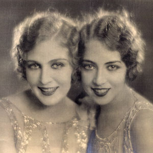 Doris with her sister
