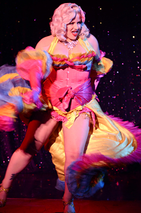 """Photo: Aaron Settipane. Image from Dita Von Teese and Special Guests """"Burlesque: Strip Strip Hooray!"""" at the Roxy Theater. May 17&18, 2011."""