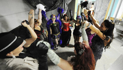 Recent Burlesque Experience Students