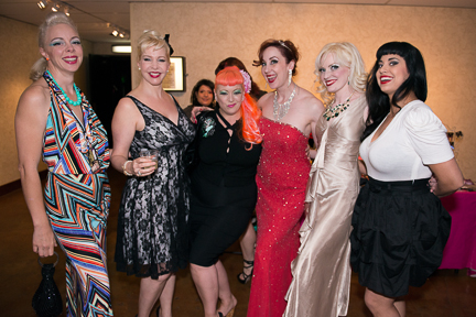 Imogen Kelly, Bambi LaFleur, Dirty Martini, Ruby Joule, Goldie Candela and Coco Lectric (Photo: David Weaver)