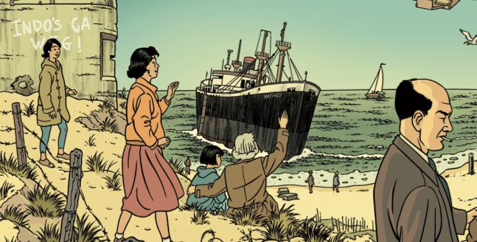Sneak preview: Adriaan van Dis over de stripversie van zijn roman 'Familieziek'. Lees het in PINDA* – de glossy met een Indisch tintje. Bestel 'm alvast