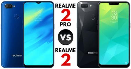Perbedaan Realme 2 dan Realme 2 Pro