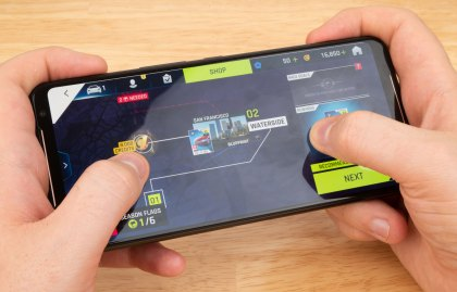 Test Game Asus ROG Phone II