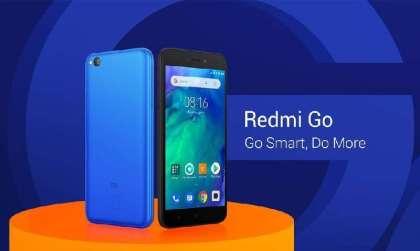 Desain Xiaomi Redmi Go