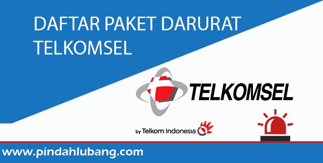 Cara Daftar Paket Darurat Telkomsel