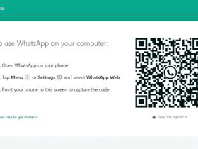 Cara Melihat Kode QR Whatsapp