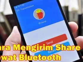 Cara Mengirim SHAREit Lewat Bluetooth