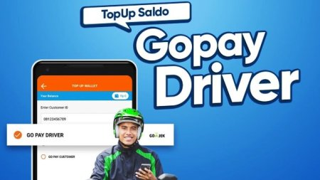 Cara Top Up Gojek Driver