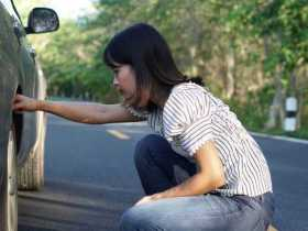 Penyebab Ban Mobil Pecah