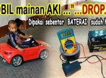 Cara Ngecas Mobil Mainan Aki