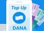 Biaya Admin Top Up Dana