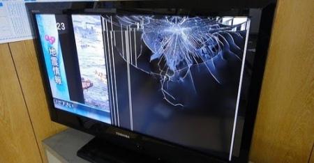 Biaya Ganti LCD TV Pecah