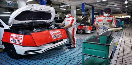 Biaya General Check Up Mobil Toyota