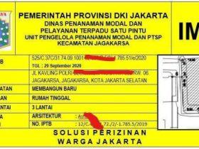 Biaya izin mendirikan bangunan