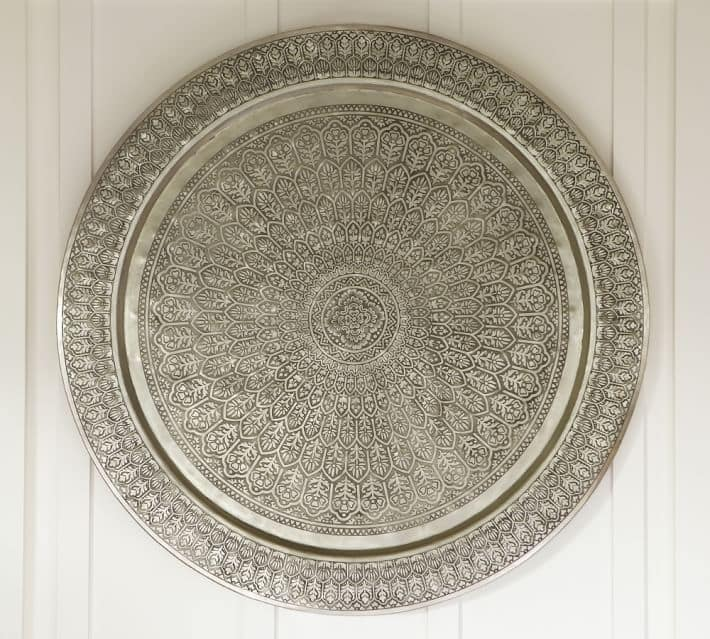 pottery barn decorative disc