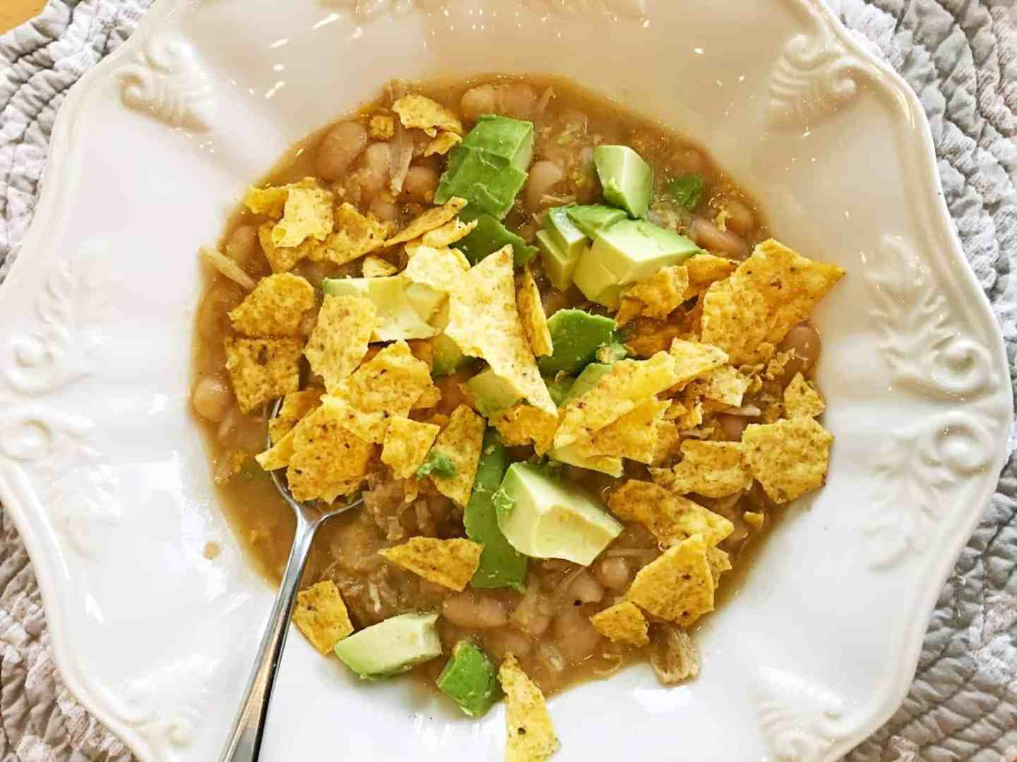 hearty white chili