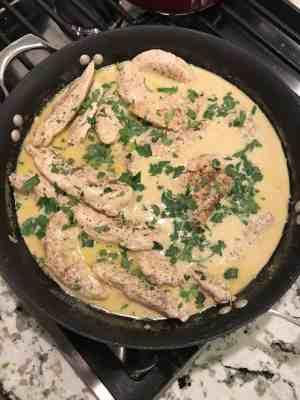 chicken in mustard cream sauce pioneer woman