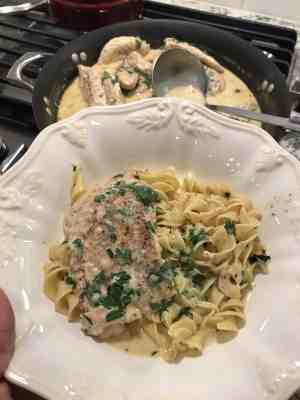 chicken in mustard cream sauce pioneer woman