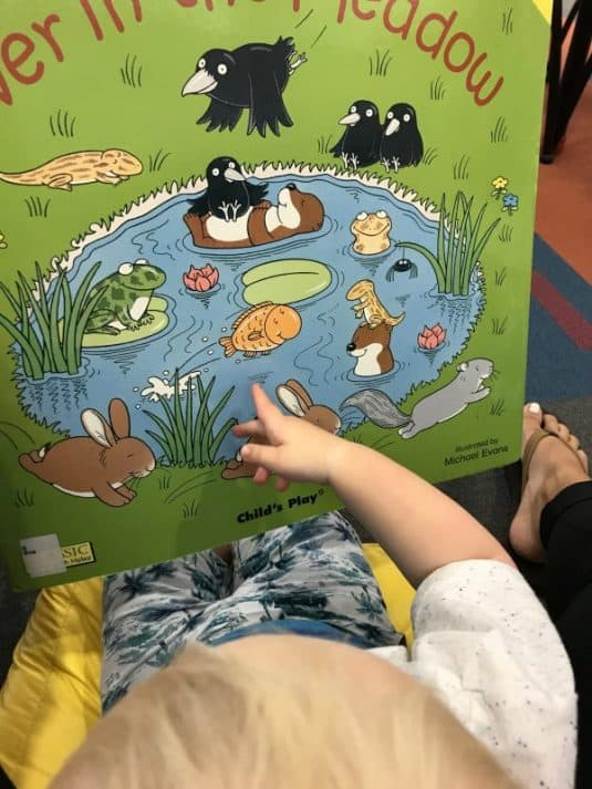 corey at the library