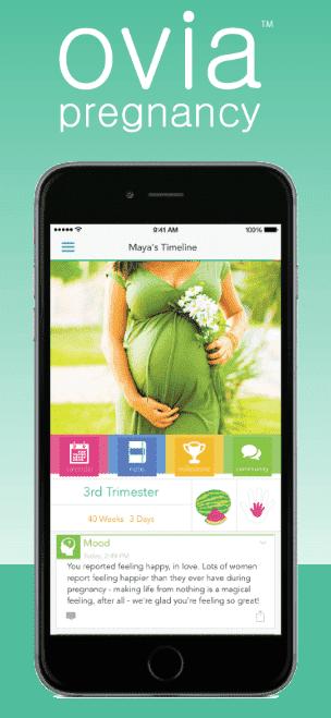 ovia pregnancy app