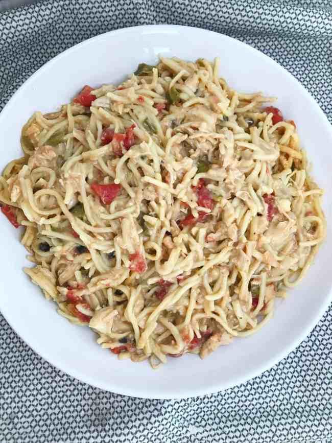 Chicken Spaghetti + Tuesday Randoms