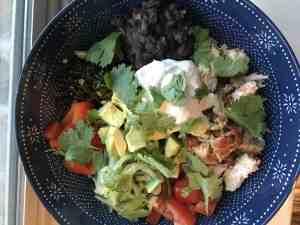 salsa crazy chicken bowls