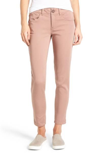 ab-solution stretch twill skinny pants