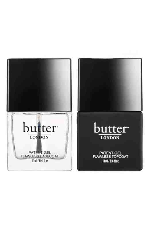 Butter London Patent Gel Basecoat and Topcoat