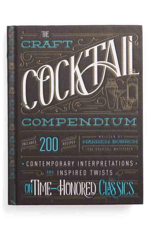 Craft Cocktail Compendium Book