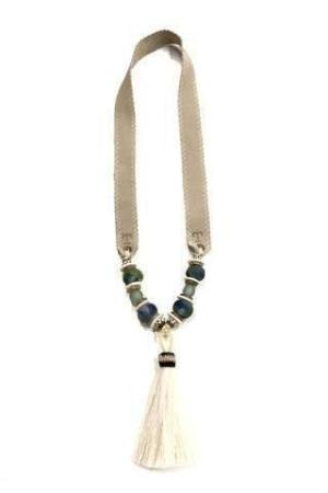 Twin & Twig TASSEL HORSE HAIR NECKLACE