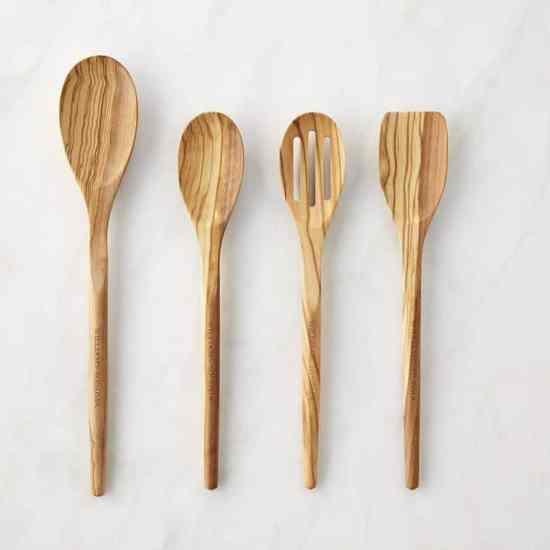 Williams Sonoma Olivewood Spoon Set
