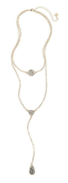 Panacea Sunstone Multistrand Necklace