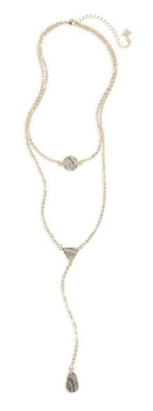Panacea Sunstone Multistrand Necklace