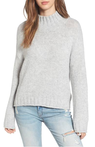 BP Cozy Mock Neck Sweater