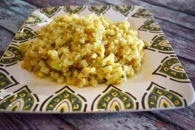 Cheesy Cauliflower Rice
