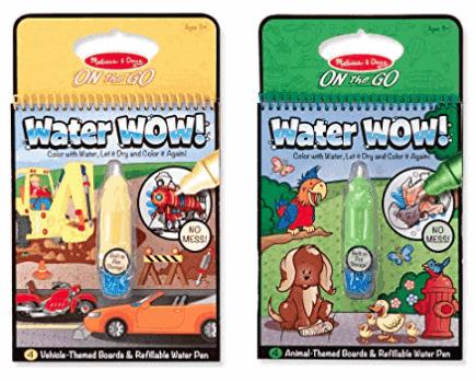 Melissa & Doug on the go water wow reusable