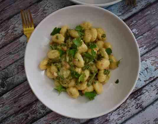 parmesan spring pasta
