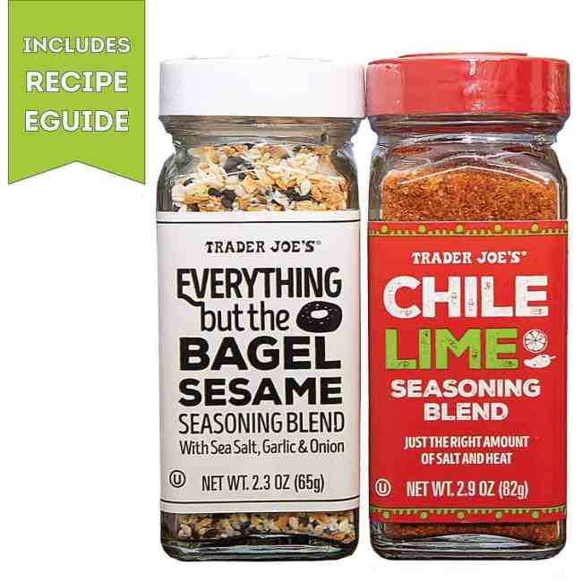 Trader Joe's Everything but the Bagel and Chile Lime