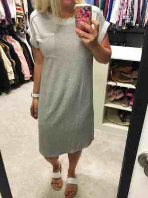 Caslon Off-Duty Knit T-Shirt Dress