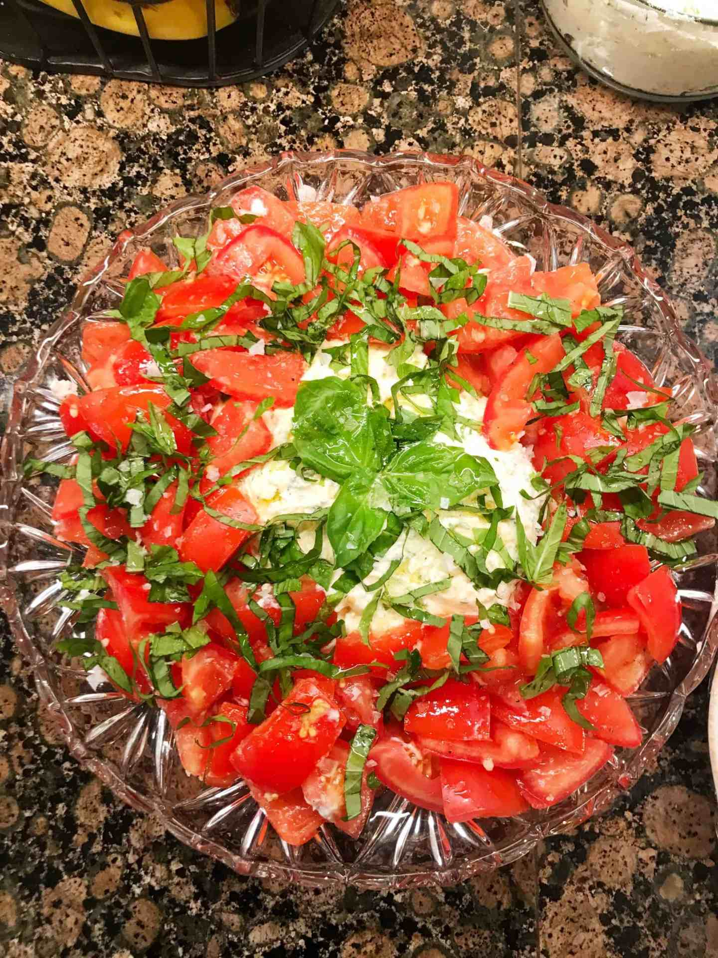 Barefoot Contessa Cook Like a Pro Herbed Ricotta and Tomato Salad