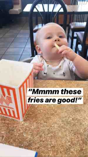 baby's first french fries