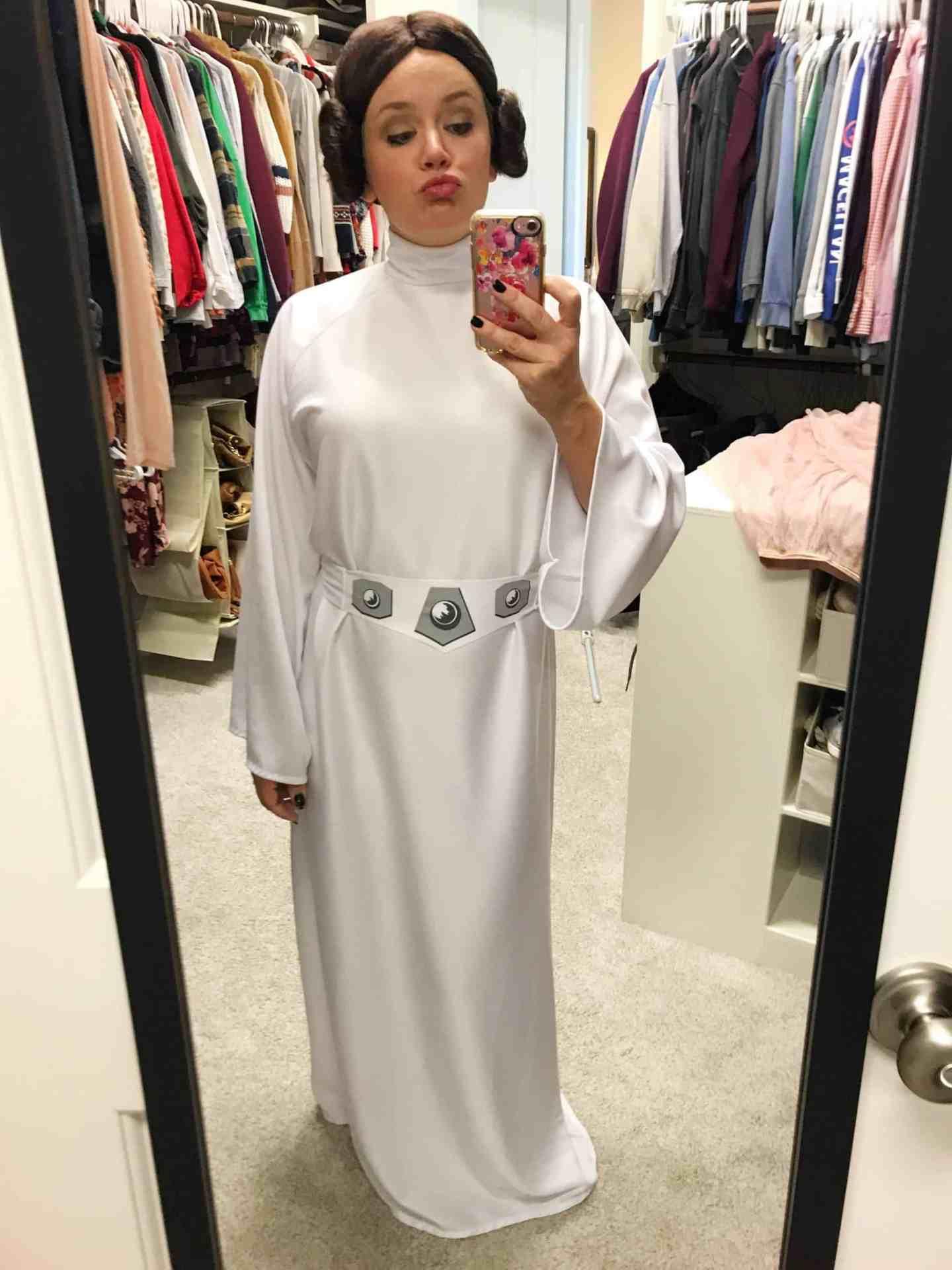 Prindess Leia Halloween Costume