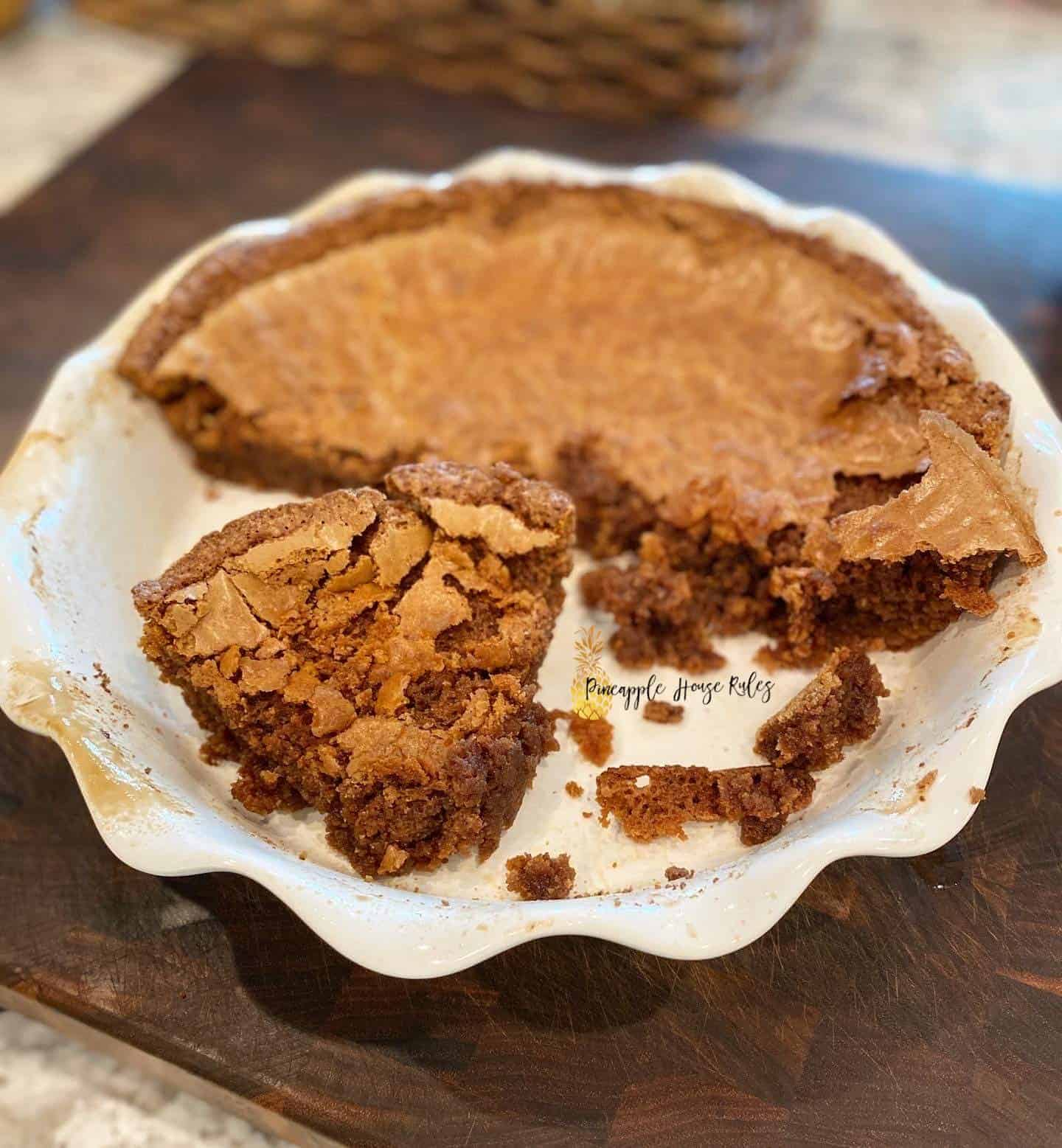 Easy Fudge Pie 1