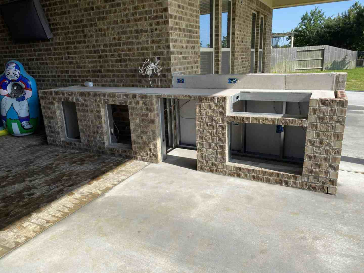 Back Patio Extension