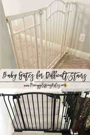 Baby-Gates-for-Difficult-Stairs