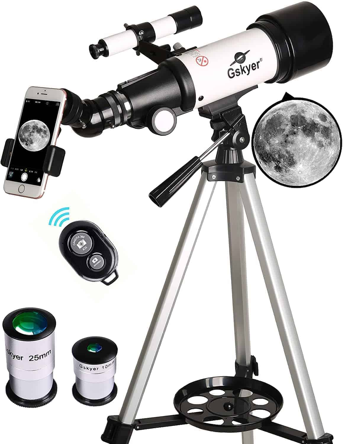 Telescope-with-Phone-Adapter-and-Bluetooth-Fathers-Day-Gift-Ideas