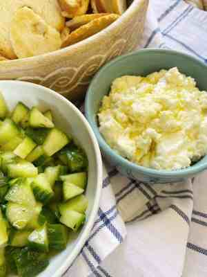 Whipped-Feta-and-Marinated-Cucumbers-side-view